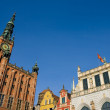 Historic Part of Gdansk — Stock Photo