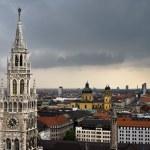 Panorama of Munich, Germany — Stock Photo