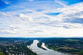 The Rhine near Bonn — Stock Photo
