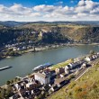 Stock Photo: Upper Middle Rhine Valley