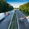 Stock Photo: Motorway Traffic