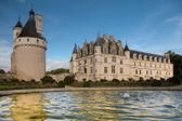 красивый замок шенонсо во франции — Стоковое фото
