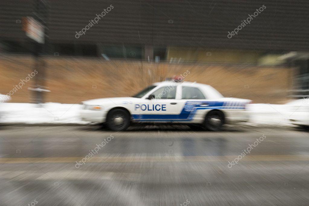 police car blur effect in american city stock photo boerescul 2055166. Black Bedroom Furniture Sets. Home Design Ideas