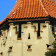 Fortification tower Sibiu — Stock Photo