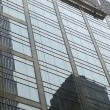 Office building skyscraper with scaffold — ストック写真