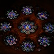 Stock Photo: Stainglass in church