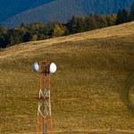 Telecommunication GSM antenna — Stock Photo