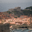 Old town of dubrovnik in croatia — Stock Photo
