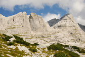Limestone mountain austrian alps — Foto Stock