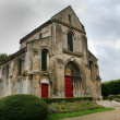 Romanic style church in france — Stock Photo #2469053