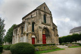 Romanic style church in france — Stock Photo