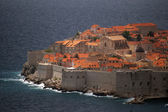Dubrovnik old town in croatia — Stock Photo