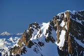 Mountain ridge austrian alps — Stock Photo