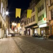 Stock Photo: Old town strassbourg by night