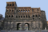 Porta Nigra entrance gate town Trier — Stock Photo