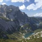 Gosau lake in austrian alps — Stock Photo