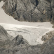 Glacier limb in austrian mountain alps — Stockfoto
