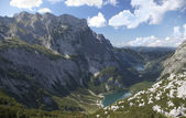 Gosau lake in austrian alps — Stock fotografie