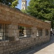 Stock Photo: Sarajevo old street wall and tower