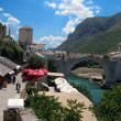 Mostar bridge in bosnia — Stock Photo