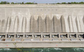 Water Hydro Dam at Niagara Falls — Stock Photo