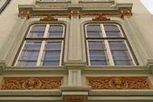 Building exterior with window — Stock Photo