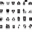 Royalty-Free Stock ベクターイメージ: Eco icon set