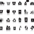 Royalty-Free Stock Vektorgrafik: Eco icon set