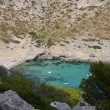 Formentor cove in majorca — Stock Photo