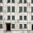 Derelict old windows - Stock Photo