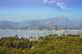 View of porto cristo from mountains, maj — Stock Photo