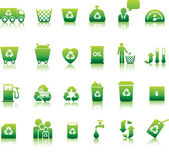 Eco icon set — Stockvector