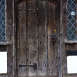 Stock Photo: Tudor house door