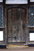 Tudor house door — Stock Photo