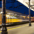Stock Photo: Train station
