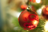 Christmas tree decorations — Foto de Stock