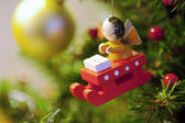 Christmas tree decorations — 图库照片