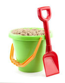 Bucket and spade — Stock Photo