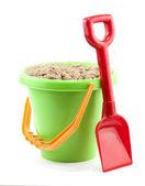 Bucket and spade — Stock Photo