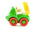 Toy cement mixer - Stock Photo
