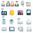 Royalty-Free Stock Photo: Office icon set