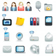 Office icon set - Stock Photo