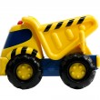 Construction truck toy — Stock Photo