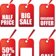 Sale tags — Stock Photo #2153616