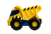 建設のトラックのおもちゃ — ストック写真