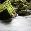 Rocks in river — Stock Photo
