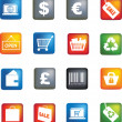Royalty-Free Stock Photo: Retail icon set