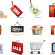 Stock Photo: Retail icon set
