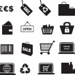 Retail icon set — Stock Photo #2170723