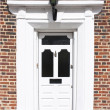 Grand front door - Stock Photo